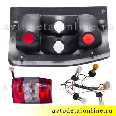 Задний фонарь УАЗ-3163 Патриот до 2015 г, левый, каталожный 3160-3716011-10 номер 961.3716, фото