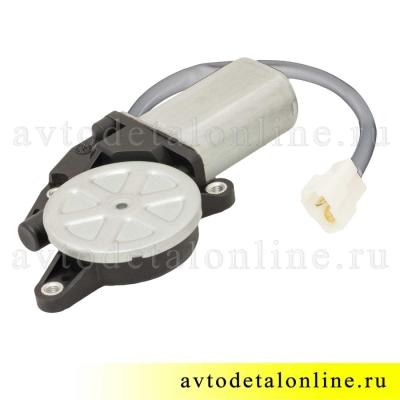 Моторедуктор стеклоподъемника УАЗ Патриот 3163 правый на замену старого двигателя с 14 зубьями