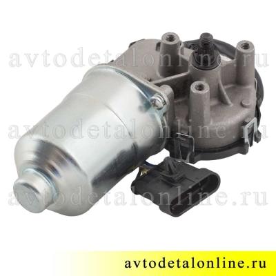 Мотор стеклоочистителя УАЗ Патриот, аналог Bosch, под трапецию дворников 3163-5205100