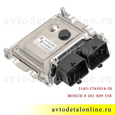 Электронный блок управления Патриот УАЗ, ЭБУ 3163-3763014-30 контроллер BASCH 0 261 S09 538