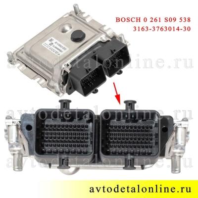 ЭБУ УАЗ Патриот 3163-3763014-30 электронный блок управления BASCH 0 261 S09 538