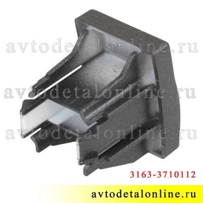 Заглушка клавиши УАЗ Патриот 3163-3710112 на панели кнопок 999.3710-ххх
