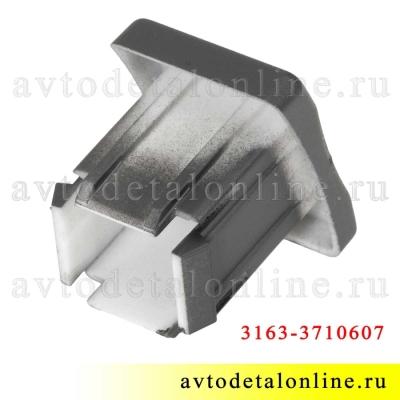 Заглушка клавиши УАЗ Патриот 3163-3710607 на панели кнопок 992-3710.111