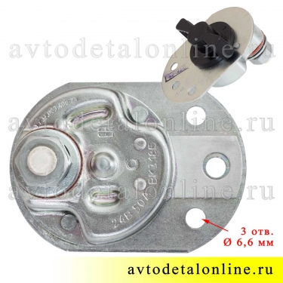 Выключатель массы поворотный ВК318Б У-ХЛ 50А для установки на УАЗ, ГАЗ, ВАЗ, ЗИЛ, пр-во СОАТЭ