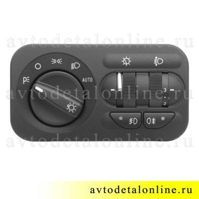 Блок управления светом УАЗ Патриот 3163-3709600-01, электронный модуль 142.3769-01 пр-во Авар, г. Псков