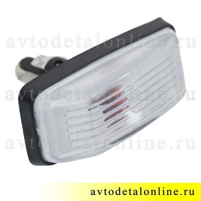 Боковой указатель поворота Патриот УАЗ 3163-3726010, дополнительный белый поворотник на крыло
