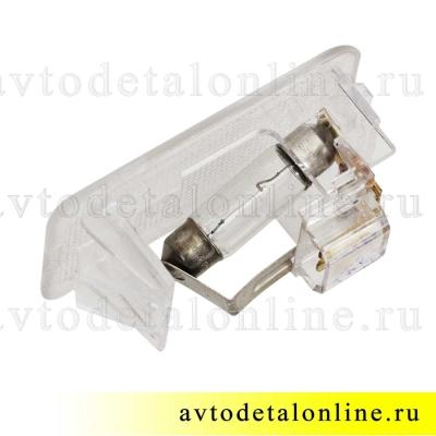 Плафон салона УАЗ Патриот 3163-3714050 для подсветки открывания двери, пр-во Освар, 3802.3714