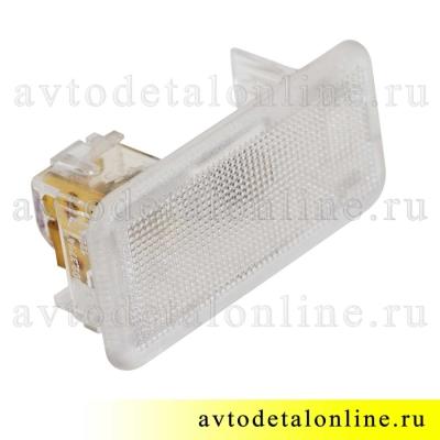 Плафон салона УАЗ Патриот 3163-3714050 для подсветки открывания двери с лампой, пр-во Освар, 3802.3714
