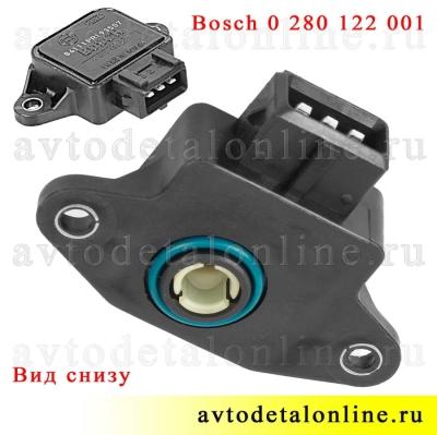 Датчик дроссельной заслонки Bosch 0 280 122 001 УАЗ Патриот и др, с ЗМЗ-409, 406, 514 кат. номер 406.1130000