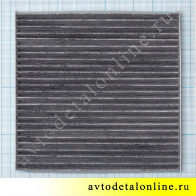 Воздушный угольный фильтр салона УАЗ Патриот 2012 г и позже, замена 3163-8101140-40, размеры на фото