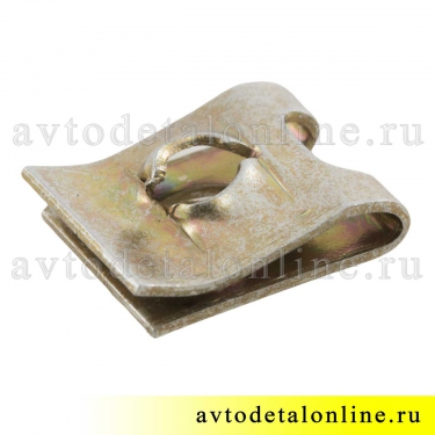 Фланцевая гайка скоба под саморез крепления молдинга крыла, решетки радиатора и др УАЗ Патриот 1/41897/76