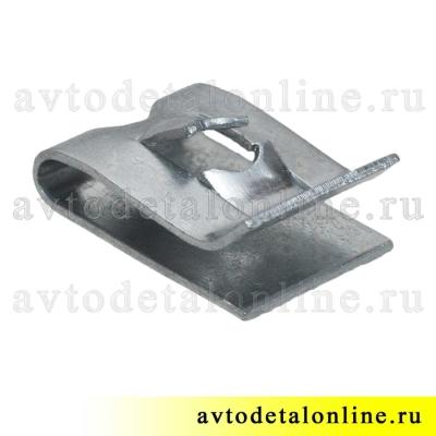Фланцевая, пружинная гайка под винт применяется в Lada, ВАЗ и др, номер скобы 2101-8109137