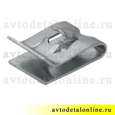 Пружинная гайка-скоба под саморез для крепления деталей ВАЗ, Lada, номер фланцевой гайки 21010-8109137