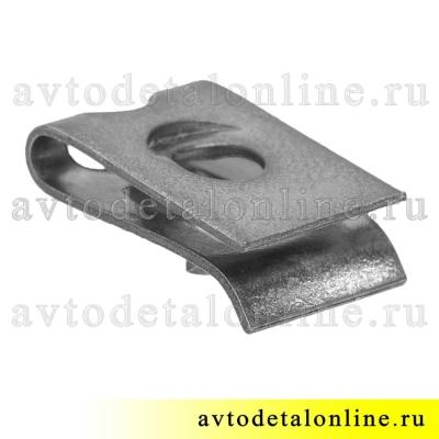 Пружинная гайка фланцевая 292665 скоба широкого применения ГАЗ и др.