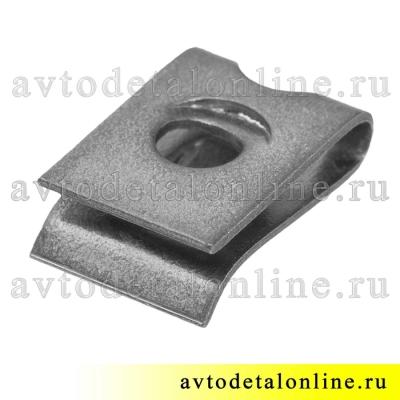 Пружинная гайка фланцевая под саморез 292665 скоба широкого применения ГАЗ и др.