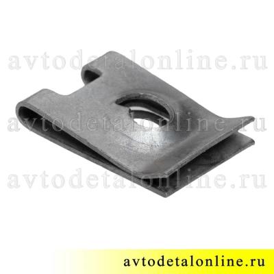 Фланцевая, пружинная гайка под саморез переднего крыла УАЗ Патриот, 3160-8403804 для ВАЗ 21080-8403068