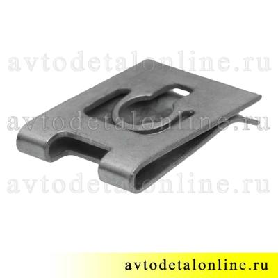 Фланцевая гайка для Lada ВАЗ 21080-8403068 и УАЗ Патриот 3160-8403804 ,скоба пружинная под винт или саморез