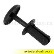 Держатель обивки и пистон УАЗ Патриот, Хантер, черный комплект