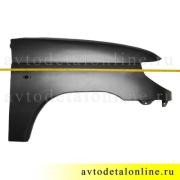 Переднее крыло УАЗ Патриот 3163, правое, пластиковое на замену 3163-8403012, фото