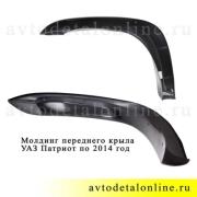 Молдинг-накладка крыла Патриот УАЗ по 2014 год, правый, 3163-8212050-04, фото