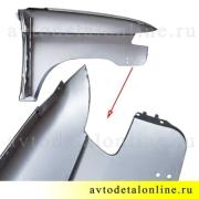 Крыло левое УАЗ Патриот, переднее, металл. на замену 3163-8403011, фото