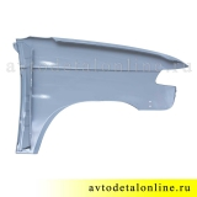 Крыло переднее левое УАЗ Патриот, металл+грунт. на замену 3163-8403011, фото