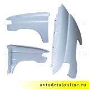 Переднее крыло УАЗ Патриот 3163, левое, металлическое+грунт на замену 3163-80-8403011, фото