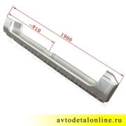 Левый порог УАЗ 3163 Патриот на замену 3162-5401247, фото с размерами