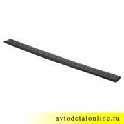 Накладка на пороги УАЗ Патриот резиновая, на трубу бокового ограждения 3162-8405045-02
