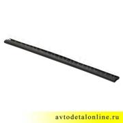 Накладка на пороги УАЗ Патриот резинвая 3162-8405045-02 на трубу бокового ограждения