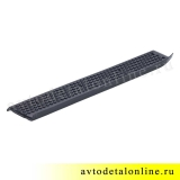 Накладка подножки УАЗ Патриот резиновая 3160-8405571 передняя, левая