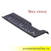 Накладка подножки УАЗ Патриот резиновая 3160-8405580 средняя, левая