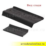 Резиновая накладка подножки Патриот УАЗ средняя №2, короткая 3162-8405585
