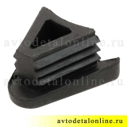 Боковая заглушка накладки порога Патриот 3162-8405040 резинки на трубу бокового ограждения