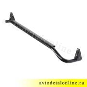 Силовая труба порогов УАЗ Патриот правая 3162-8405012 внешнее боковое ограждение подножки без накладки