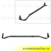 Труба внешняя порога УАЗ Патриот защита левая 3162-8405013 усиленное боковое ограждение подножки