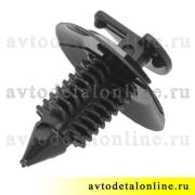 Кнопка пистон обшивки УАЗ Патриот 3160-6102053 клипса для крепления обивки дверей