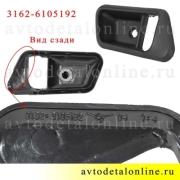 Маркировка облицовки ручки двери УАЗ Патриот внутренняя, правая накладка на обшивку, 3162-6105192