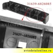 Накладки ручки двери УАЗ Патриот внутренние, на левый подлокотник, номер облицовки 3163-90-6826085