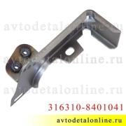 Левый кронштейн Патриот УАЗ для крепления надставки облицовки радиатора (реснички) 31631-8401041