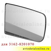 Зеркальный элемент УАЗ Патриот с подогревом и держателем правый 3162-8201070