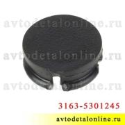 Пробка-заглушка вкладыша крепления обшивки дверей УАЗ Патриот 3163-5301245-04, черная