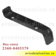Левый боковой прижим накладок подножки УАЗ Патриот, Cargo 2360-8405579, возможна доработка до 3160-8405578