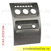 Облицовка панели приборов УАЗ Патриот, нижняя накладка консоли, 3163-5325186