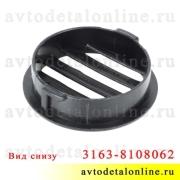 Облицовка воздуховода обогрева бокового стекла УАЗ Патриот 3163-8108062, дефлектор для обдува