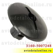 Пистон коврика пола УАЗ Патриот 3160-5007248, пластик