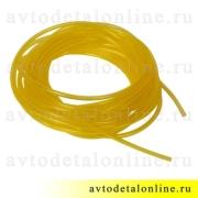 Шланг омывателя УАЗ, ГАЗ, ВАЗ и др, лобового стекла, желтая трубка d=4мм, (1 м погон.)