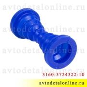 Силиконовая трубка защитная проводов двери УАЗ Патриот 3160-3724322-10, гофра для передних дверей