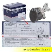 Инструкция к масляному насосу УАЗ Патриот 409-1011010-02 для двигателя 409-ЗМЗ