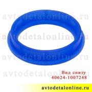 Синий силиконовый уплотнитель свечного колодца 409, 406, 405 ЗМЗ УАЗ, ГАЗ, на замену прокладки 40624.1007248